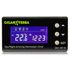 Digital thermostat Dimming Day/Night +Timer Giganterra