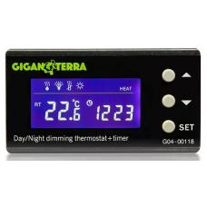 Digital thermostat Dimming Day/Night +Timer Giganterra