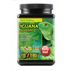 Iguana / Soft Pellets - Juvenil 240g