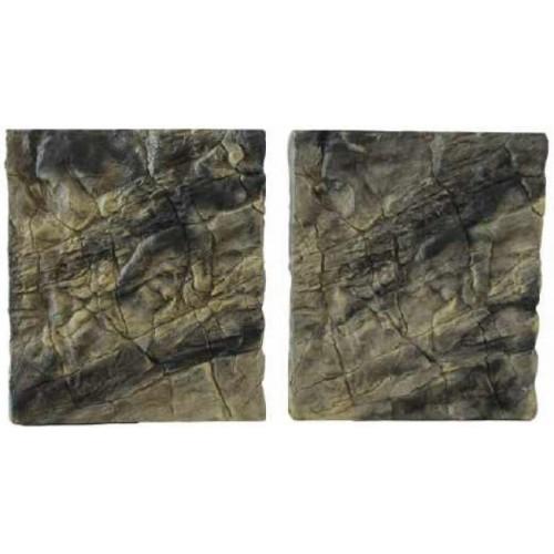 Backgrounds slimline Rock Colorado brown